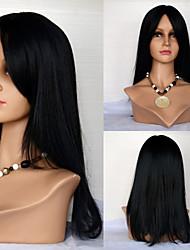 Donna Parrucche di capelli umani con retina Cappelli veri Lace frontale 120% Densità Lisci Parrucca # 27 # 30 # 33 #4/27 #1B/30 Lungo Per