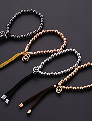 cheap -Women's Chain Bracelet - Unique Design, Fashion Bracelet Silver / Rose / Golden For Daily Casual