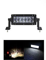 abordables -7inch 60w bar lumière led travaux d'inondation 4wd lumière Atv hors route feux de route