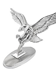 cheap -Silver Tone 3D Flying Eagle Adhesive Sticker Decal for Auto Car