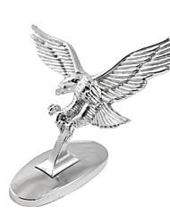 economico -3d argento tono battenti Eagle decalcomania autoadesivo adesivo per auto auto