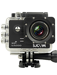 cheap -SJCAM® SJ5000 WiFi Sports Action Camera 14MP 4000 x 3000 WiFi / Waterproof 4x ±2EV 2 CMOS 32 GB H.264 Single Shot / Time-lapse / Burst Mode