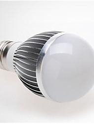 E26/E27 Ampoules LED Intelligentes G50 6 diodes électroluminescentes SMD 5730 Audio-activé Décorative Blanc Froid 360lm 6000-7000K AC