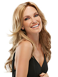 Women lady Long Curly Wig Blonde Color Synthetic Hair Wig