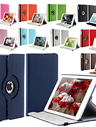 cheap -360 Degree Rotating Stand PU Leather Auto Sleep and Wake Up Case Cover for iPad Air