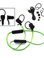 ruído cancelando esporte estéreo com microfone-in-ear headphone canal auricular Bluetooth sem fio para iphone samsung sony lg HTC