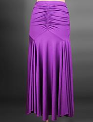 Moderner Tanz-Kleider(Schwarz Orange Purpur Rot Königsblau,Elastan,Moderner Tanz) - fürDamen Kleid