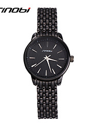 SINOBI Women's Fashion Watch Water Resistant / Water Proof Quartz Alloy Band Black
