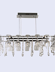 cheap -Traditional / Classic Modern / Contemporary Pendant Light Ambient Light - Crystal, 110-120V 220-240V Bulb Included