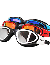 cheap -SUPER-K Swimming Goggles Anti-Fog Waterproof Adjustable Size Silica Gel PC Red Black Blue Others