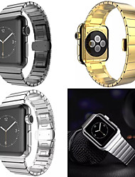 billige -HOCO rustfritt stål stropp sommerfugl spenne band for Apple Watch iwatch