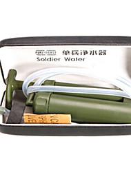Недорогие -Портативные Фильтры для воды и очистители пластик ABS Походы На открытом воздухе 1 pcs