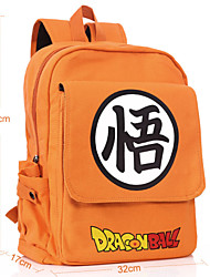 cheap -Bag Inspired by Dragon Ball Cosplay Anime Cosplay Accessories Bag / Backpack Orange Canvas Male / Female