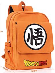 Bolsa Inspirado por Dragon ball Fantasias Anime Acessórios de Cosplay Bolsa / mochila Laranja Tela Masculino / Feminino