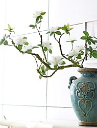 baratos -Poliéster Azalea Flores artificiais