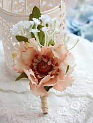 Wedding Flowers Free-form Peonies Boutonnieres Wedding Accessories