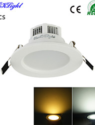 cheap -LED Recessed Lights 6 SMD 5730 300 lm Warm White Cold White 3000/6000 K Decorative AC 220-240 AC 110-130 V