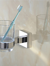 cheap -Toothbrush Holder / Mirror Polished Stainless Steel /Contemporary