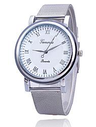 baratos -Xu™ Mulheres Relógio de Moda Quartzo Metal Banda Prata Branco Preto