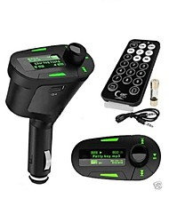 FM Transmitter Handsfree Car Kit/With Wireless Controller/MP3 Play SD/MMC Card