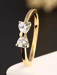 cheap -Women's Statement Ring - Zircon Fashion 6 / 7 / 8 Golden For Wedding / Party / Daily