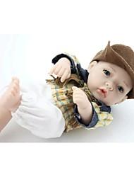 npkdoll возрождается ребенка кукла жесткий силикон 11inch 28см водонепроницаемая игрушка ковбой мальчик