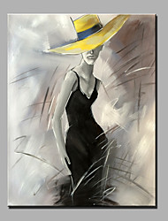 Oil Painting Modern Abstract Pure Hand Draw Ready To Hang Decorative Oil Painting The Women