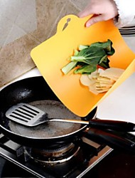 Flexible Classification Chopping Block Wear Soft Antibacterial Can Hang Chopping Board(Random Color)