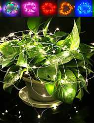 cheap -5m String Lights 50 LEDs Waterproof 12 V / IP65