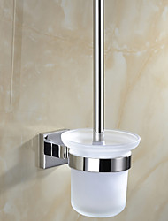 cheap -Toilet Brush Holder / Mirror Polished Stainless Steel /Contemporary