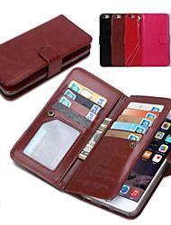 Недорогие -Кейс для Назначение iPhone 6s Plus / iPhone 6 Plus iPhone 6 Plus Чехол Твердый Кожа PU для iPhone 6s Plus / iPhone 6 Plus