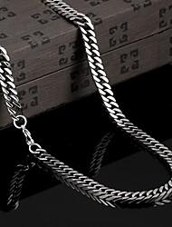 Persönlichkeit in Europa und Amerika, um alte Weisen übertrieben Titan Stahl Halsketten Schmuck