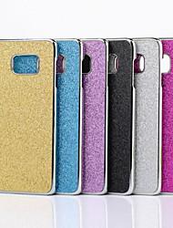 economico -Per Samsung Galaxy S7 Edge Placcato Custodia Custodia posteriore Custodia Glitterato PC Samsung S7 edge / S7 / S6 edge plus / S6 edge / S6