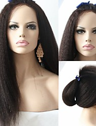 Joywigs Italian Yaki Straight Human Hair Full Lace /Lace Front Wig for Black Women