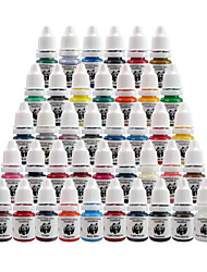 Encres de tatouage set tatouage kit pigment panda 8ml 40 couleur ti2002-8-40