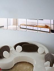 baratos -Autocolantes de Parede Decorativos - Autocolantes de Parede Espelho Pessoas / Animais / Vida Imóvel Sala de Estar / Quarto / Banheiro