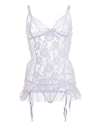 cheap -Women Lace Gartered Lingerie/Lace Lingerie Nightwear (without stockings)