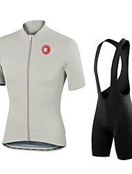KEIYUEM Camisa com Bermuda Bretelle Homens Unisexo Manga Curta Moto Meia-calça Conjuntos de Roupas Prova-de-Água A Prova de Vento Á