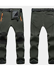 cheap -Hunting Pants Waterproof Thermal / Warm Quick Dry Men's Classic Sexy Fashion Bottoms for Skiing Camping / Hiking Fishing Climbing Leisure