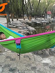 Недорогие -SWIFT Outdoor Туристический гамак На открытом воздухе Водонепроницаемость Дожденепроницаемый Влагонепроницаемый Нейлон для Охота Рыбалка Пешеходный туризм - Зеленый