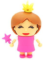 baratos -zpk30 16gb unidade de memória pequena princesa dos desenhos animados USB 2.0 Flash u vara
