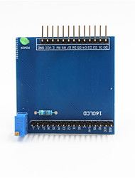 cheap -1602 LCD Shield Expansion Board Module for Arduino+ Raspberry Pi - Blue