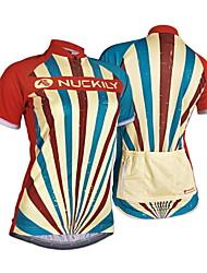 cheap -Nuckily Cycling Jersey Women's Short Sleeves Bike Jersey Top Ultraviolet Resistant Moisture Permeability Water Bottle Pocket Wearable