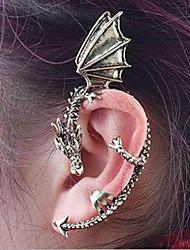baratos -Punhos da orelha - Dragão Vintage, Góticas Prata / Dourado Para Halloween Diário Casual