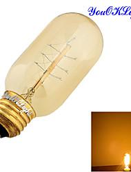cheap -YouOKLight® E27 40W 400LM Edison Tungsten Filament Bulb (AC110-120V/220-240V)