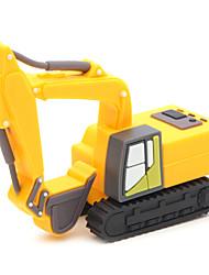zpk03 8gb escavadeira amarela unidade de memória USB 2.0 Flash u vara