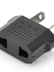 cheap -US / EU Plug to Compact Australia Travel Plug Adapter - Black