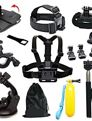 Chest Harness Front Mounting Anti-Fog Insert Clip Case/Bags Floating Buoy Suction Cup Wrenches Adhesive Mounts Straps Hand Straps Hand