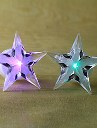 Novelty Pentagram Star Shaped 7 Color Changing Decoration LED Night Light