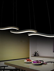cheap -Wavy Design 40W LED Fashion Simple Acrylic Pendant Lights Living Room / Bedroom / Dining Room / Study Room/Office
